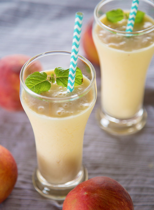 Peach Yogurt Smoothie Recipe