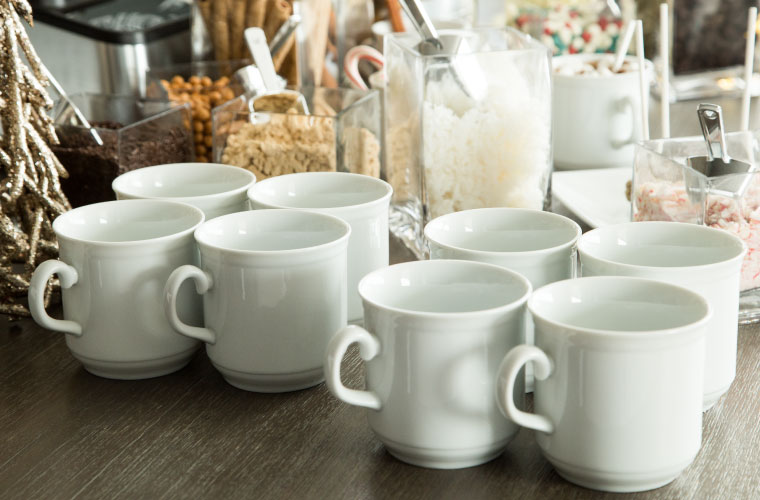 Hot Chocolate Bar Mugs