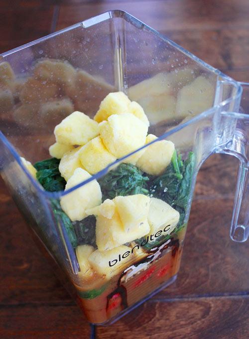 green smoothie tricks