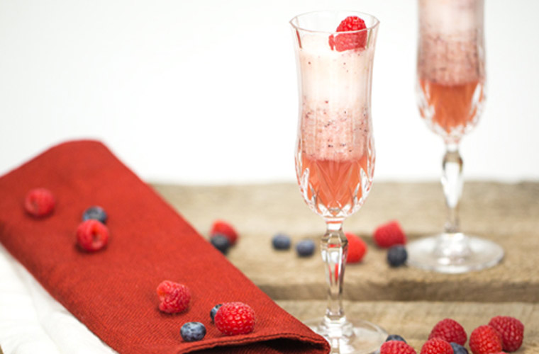 Sparkling Blueberry Cider