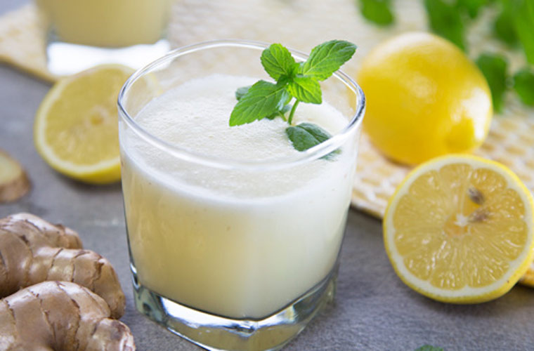 Ginger Lemonade Blendtec