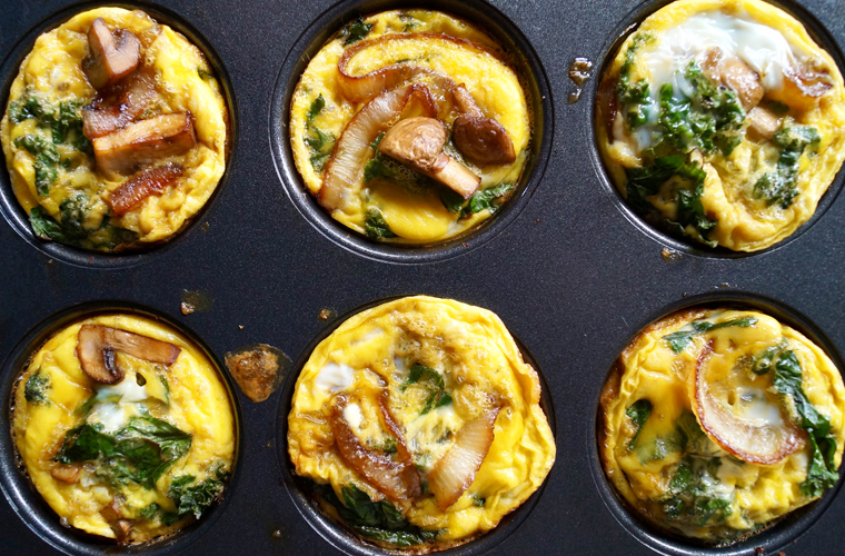 Sweet Potato Mini Quiches